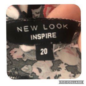 Inspire Dresses - Floral print skater dress size 20